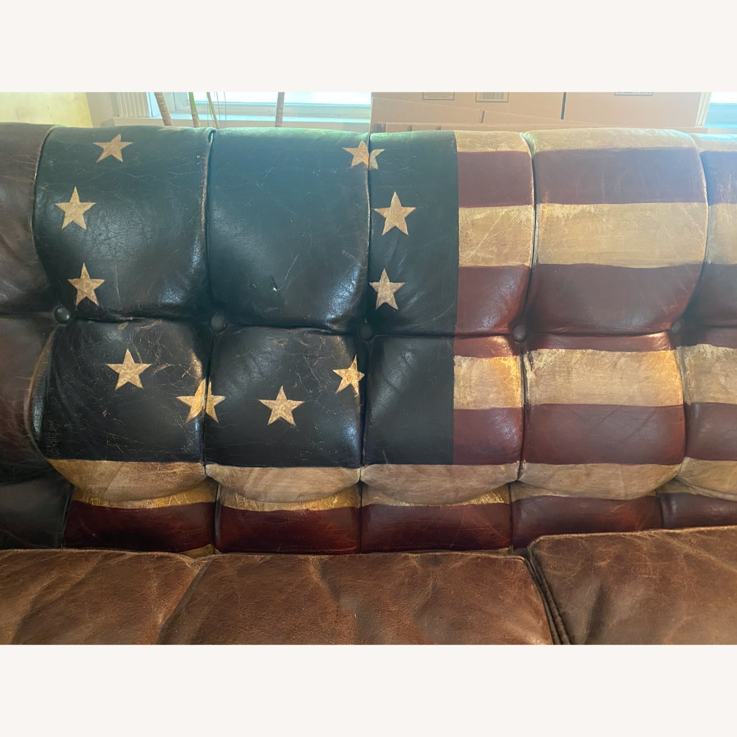 Andrew Martin Leather Armstrong Sofa - image-4
