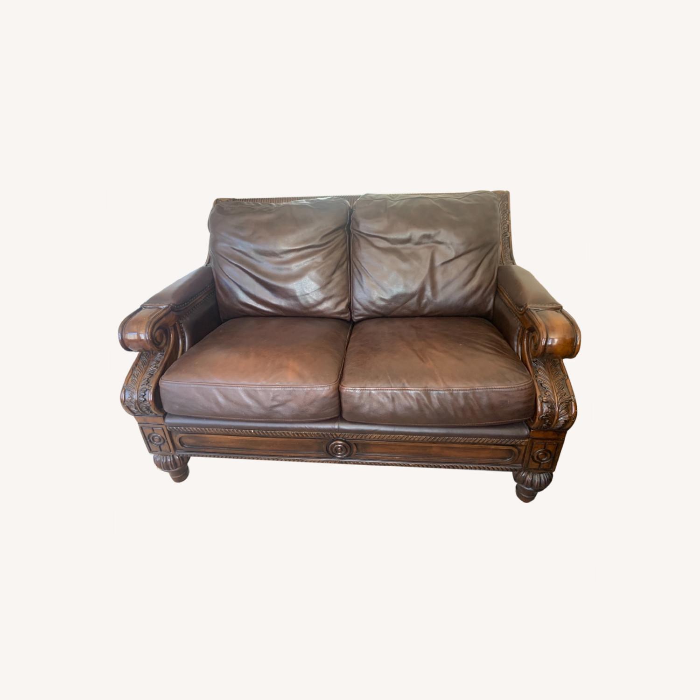 Ashley Furniture 100% Leather - image-0