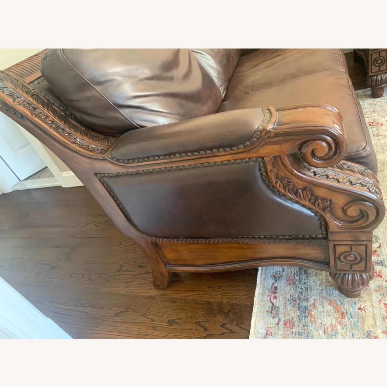 Ashley Furniture 100% Leather - image-3