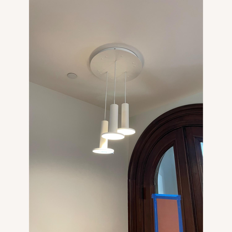Pablo Designs Cielo LED Multi-Light Pendant Light (White) - image-3