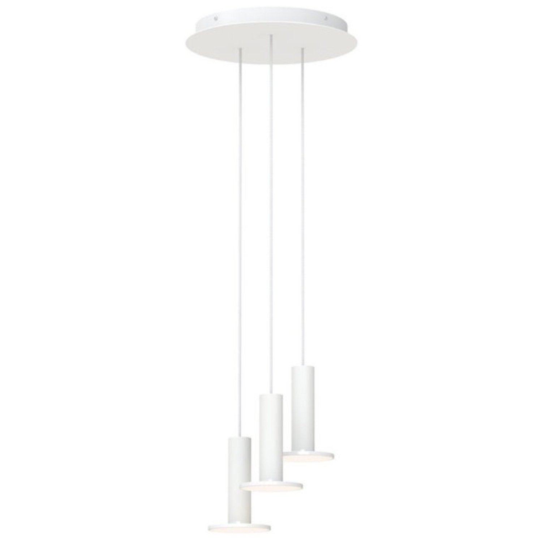 Pablo Designs Cielo LED Multi-Light Pendant Light (White) - image-1