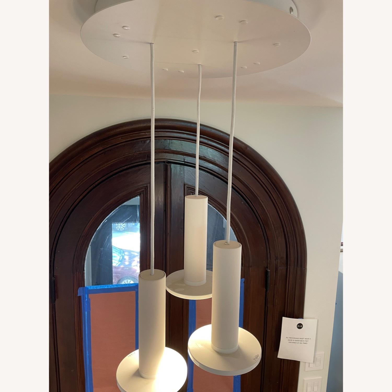 Pablo Designs Cielo LED Multi-Light Pendant Light (White) - image-4