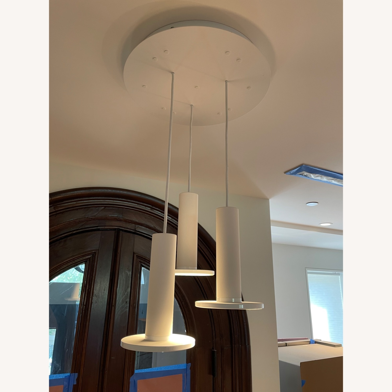 Pablo Designs Cielo LED Multi-Light Pendant Light (White) - image-0