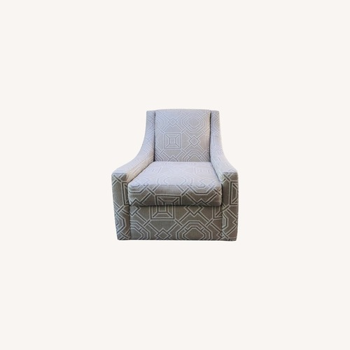 Used Rowe Furniture Swivel Chair for sale on AptDeco