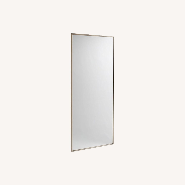 West Elm Metal Framed Floor Mirror - image-0