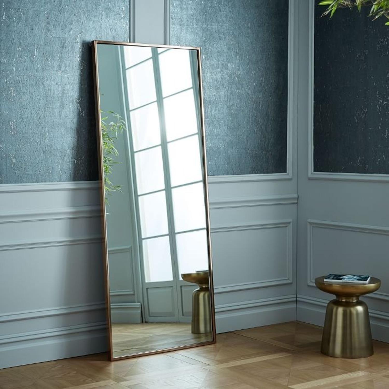 West Elm Metal Framed Floor Mirror - image-2