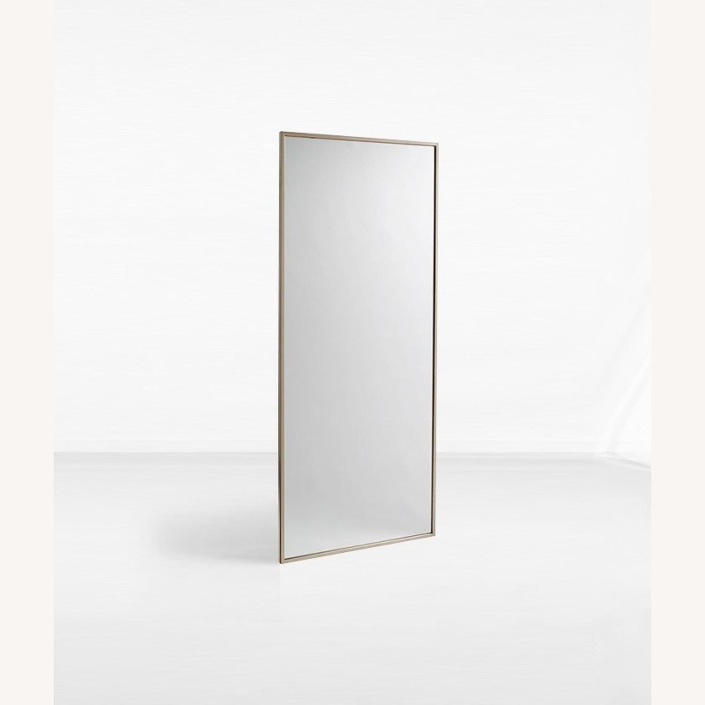 West Elm Metal Framed Floor Mirror - image-1