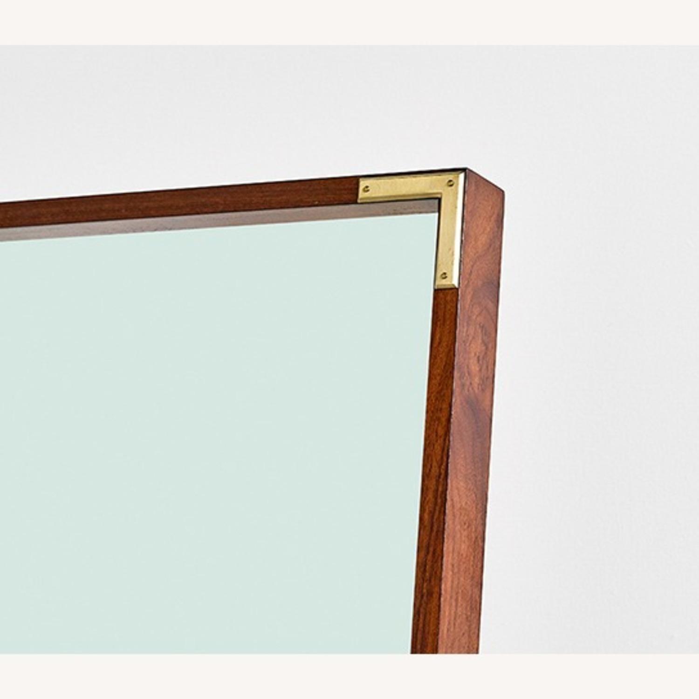 West Elm Malone Campaign Floor Mirror - image-3