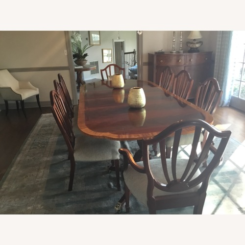 Used Baker Dining Room Table Set for sale on AptDeco