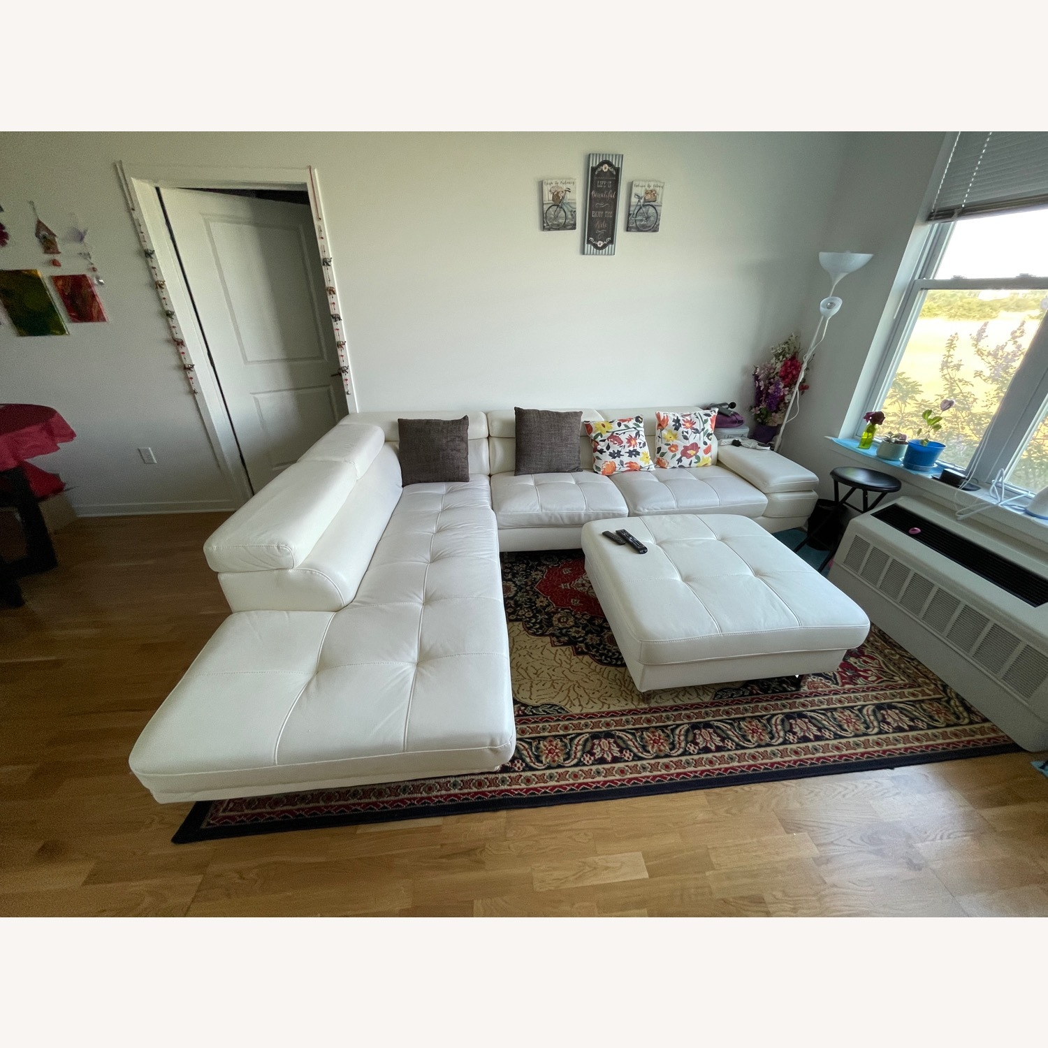 Luxury Couch and Ottoman - image-2