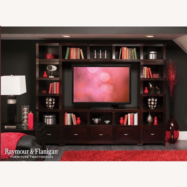 Raymour & Flanigan Lakewood 4-Piece 60 TV Console - image-4