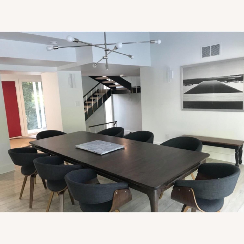 Mid Century Modern Dining Chair in Dark Grey - image-4