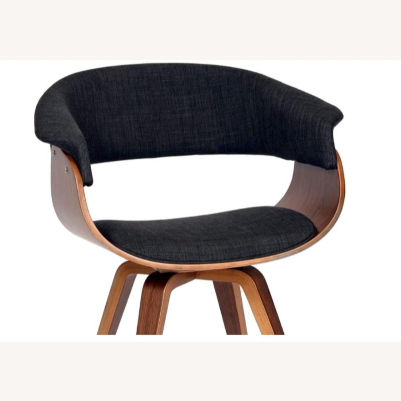 Mid Century Modern Dining Chair in Dark Grey - image-3