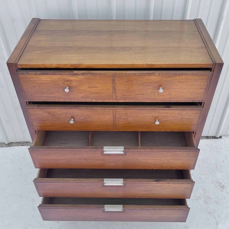 Mid-Century Modern Highboy Dresser by Basic Witz - image-2