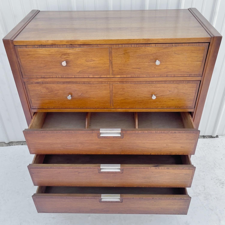 Mid-Century Modern Highboy Dresser by Basic Witz - image-25