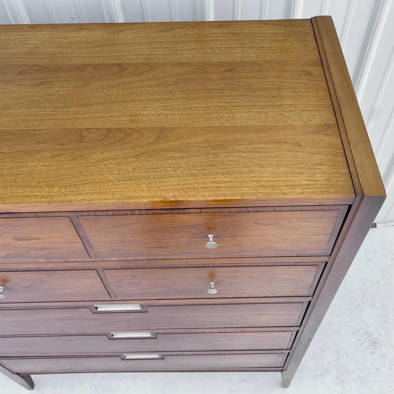 Mid-Century Modern Highboy Dresser by Basic Witz - image-8