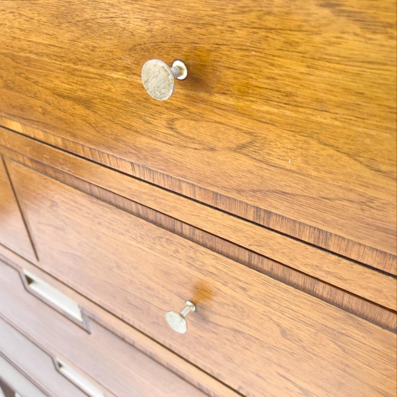 Mid-Century Modern Highboy Dresser by Basic Witz - image-17