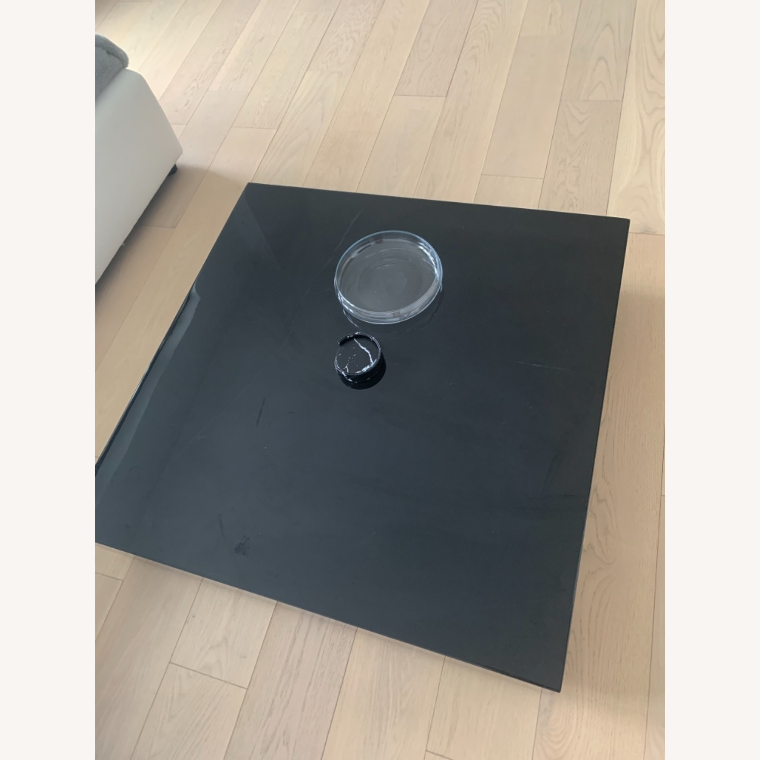 Rove Concept Black Marble Glossy Coffee Table - image-3
