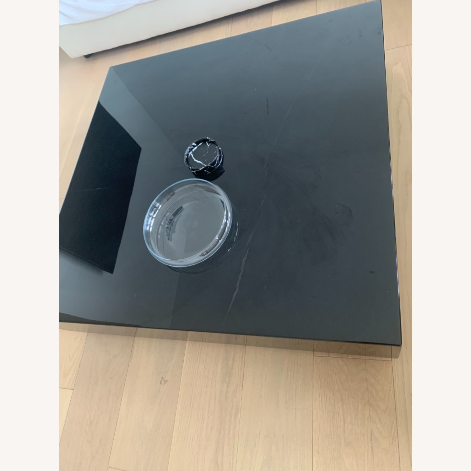 Rove Concept Black Marble Glossy Coffee Table - image-2