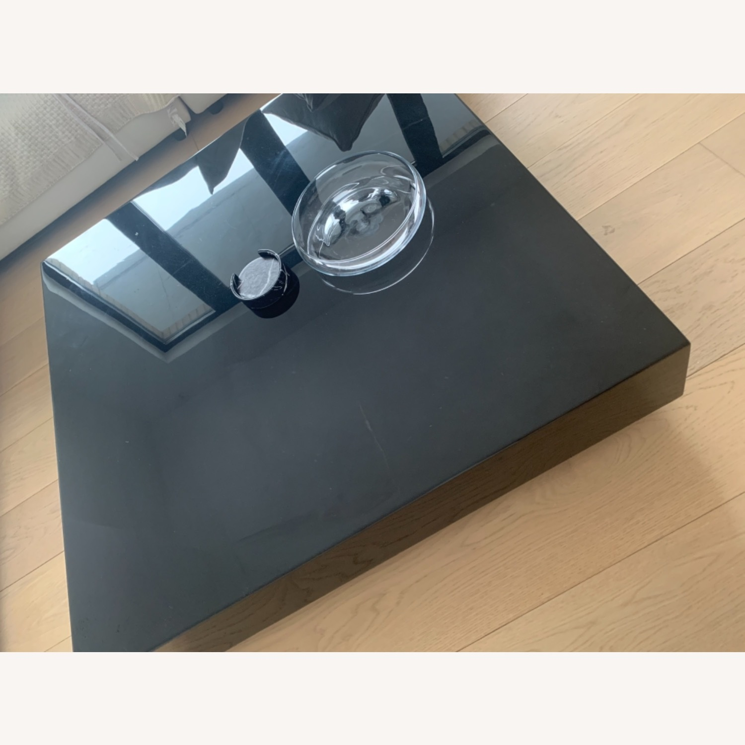 Rove Concept Black Marble Glossy Coffee Table - image-6