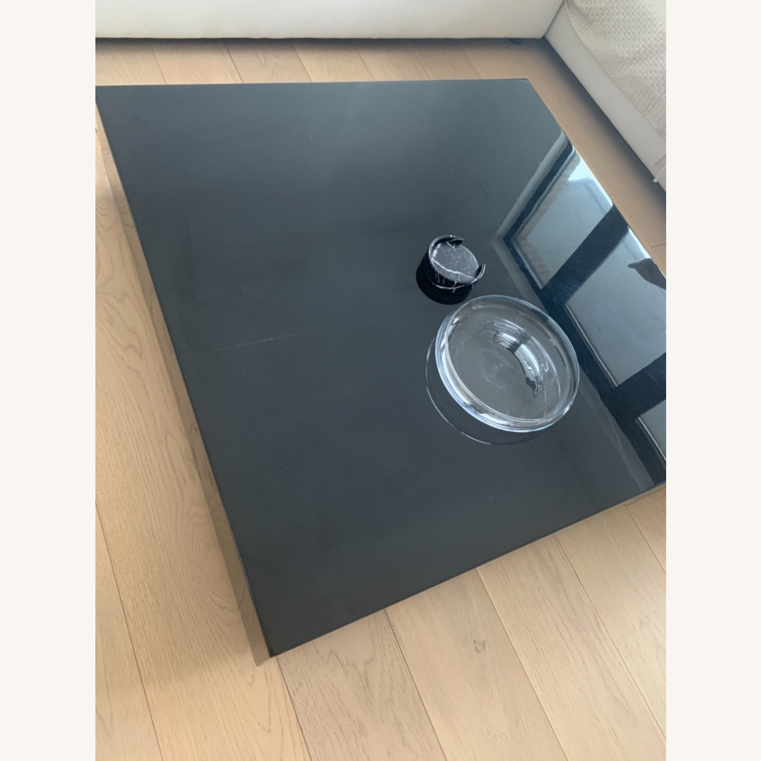 Rove Concept Black Marble Glossy Coffee Table - image-4