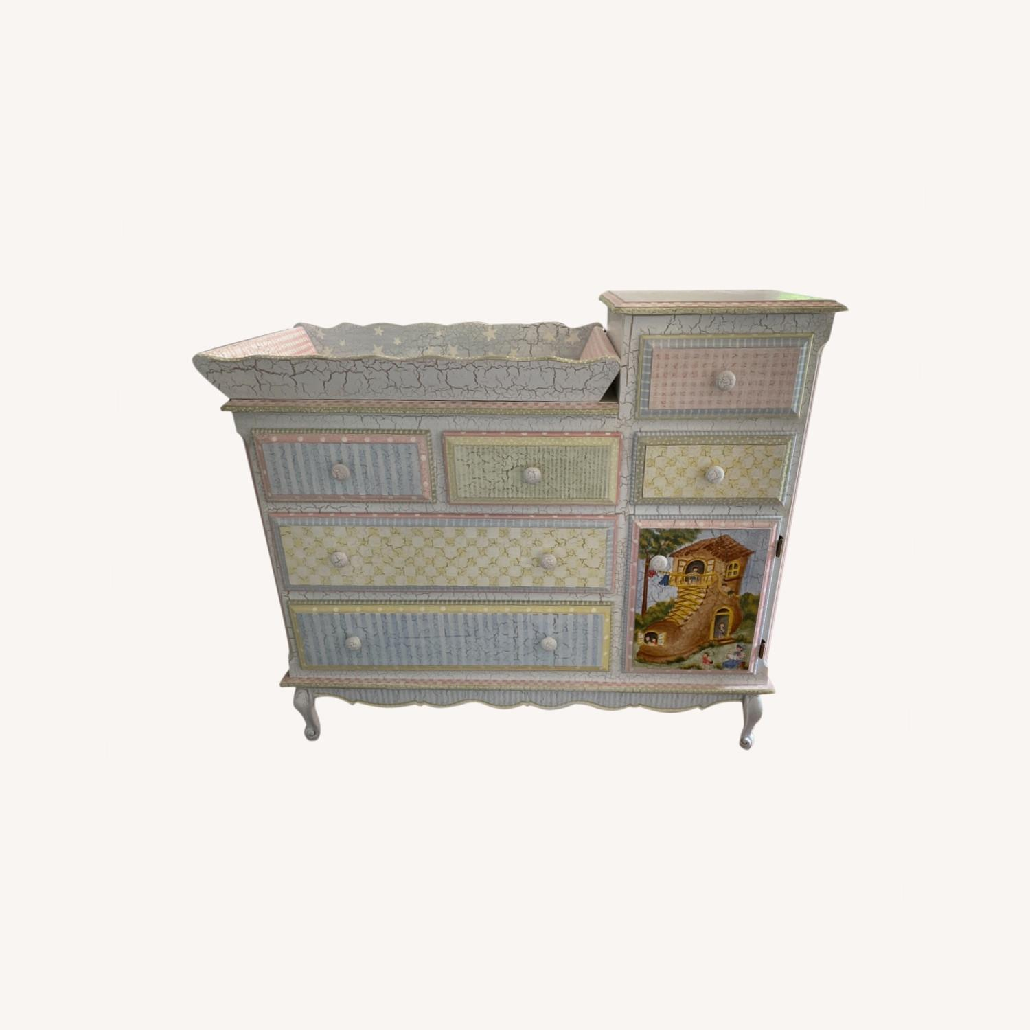 Kids Dresser with Removable Changing Top - image-0