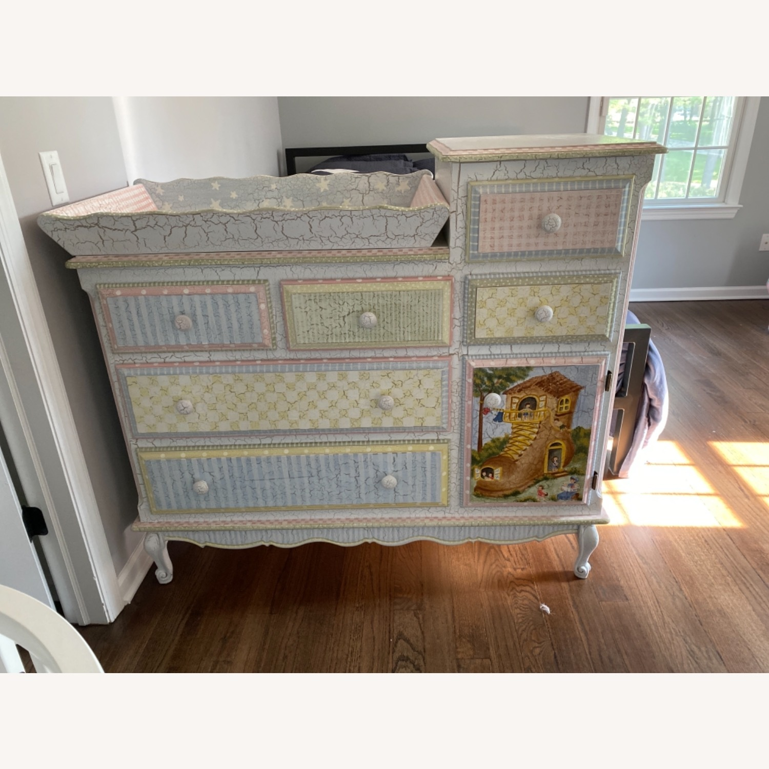 Kids Dresser with Removable Changing Top - image-1