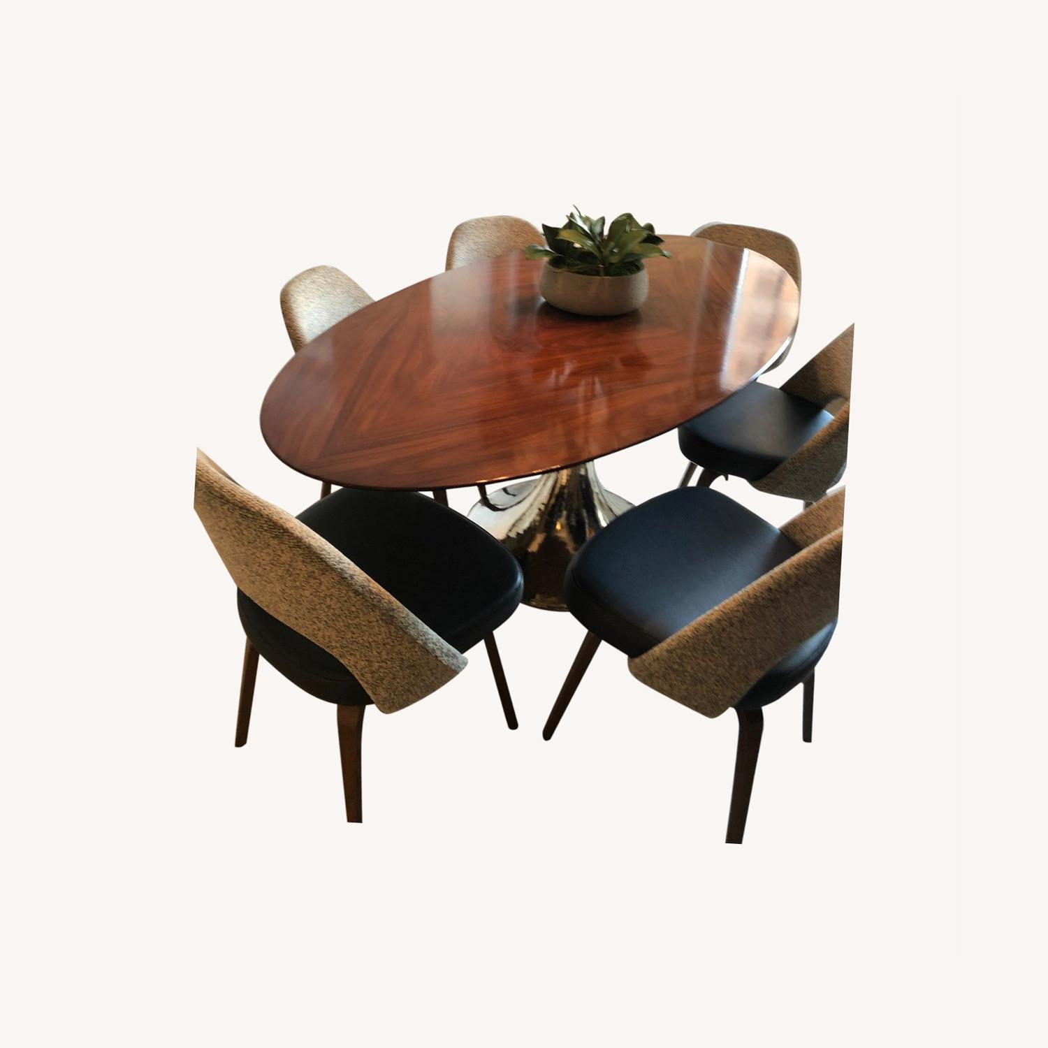 Julian Chichester Wood Dining Table - image-0