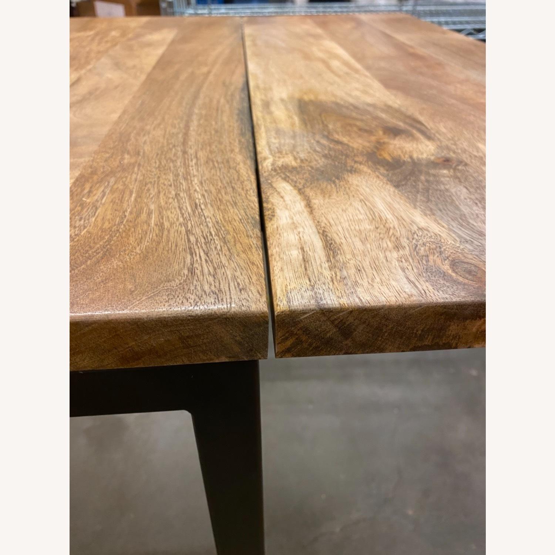 West Elm Box Frame Drop Leaf Expandable Table - image-4