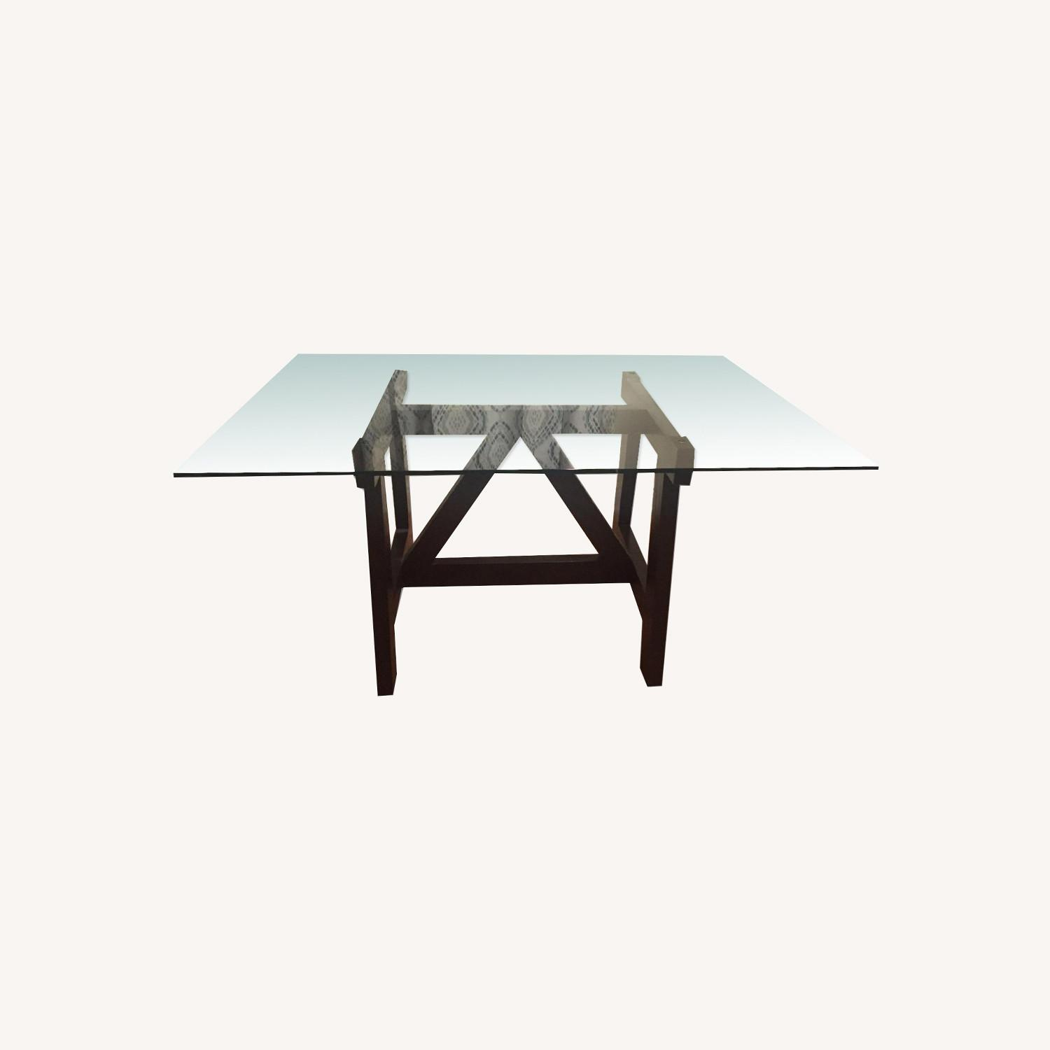 West Elm Dining Table w/ 4 Chairs - image-11