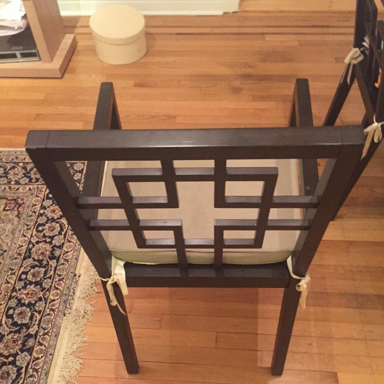 West Elm Dining Table w/ 4 Chairs - image-8