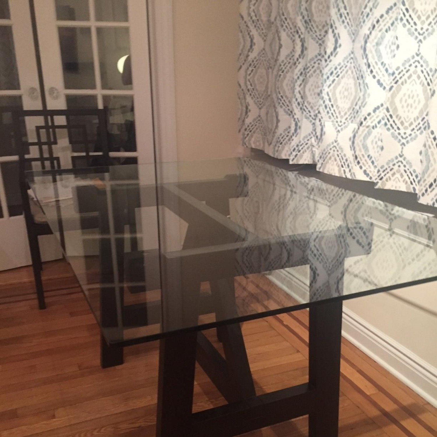 West Elm Dining Table w/ 4 Chairs - image-0