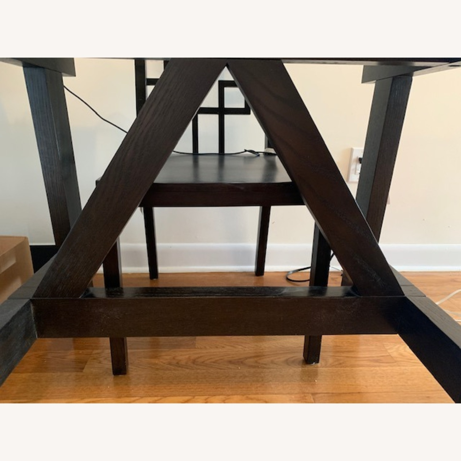 West Elm Dining Table w/ 4 Chairs - image-12