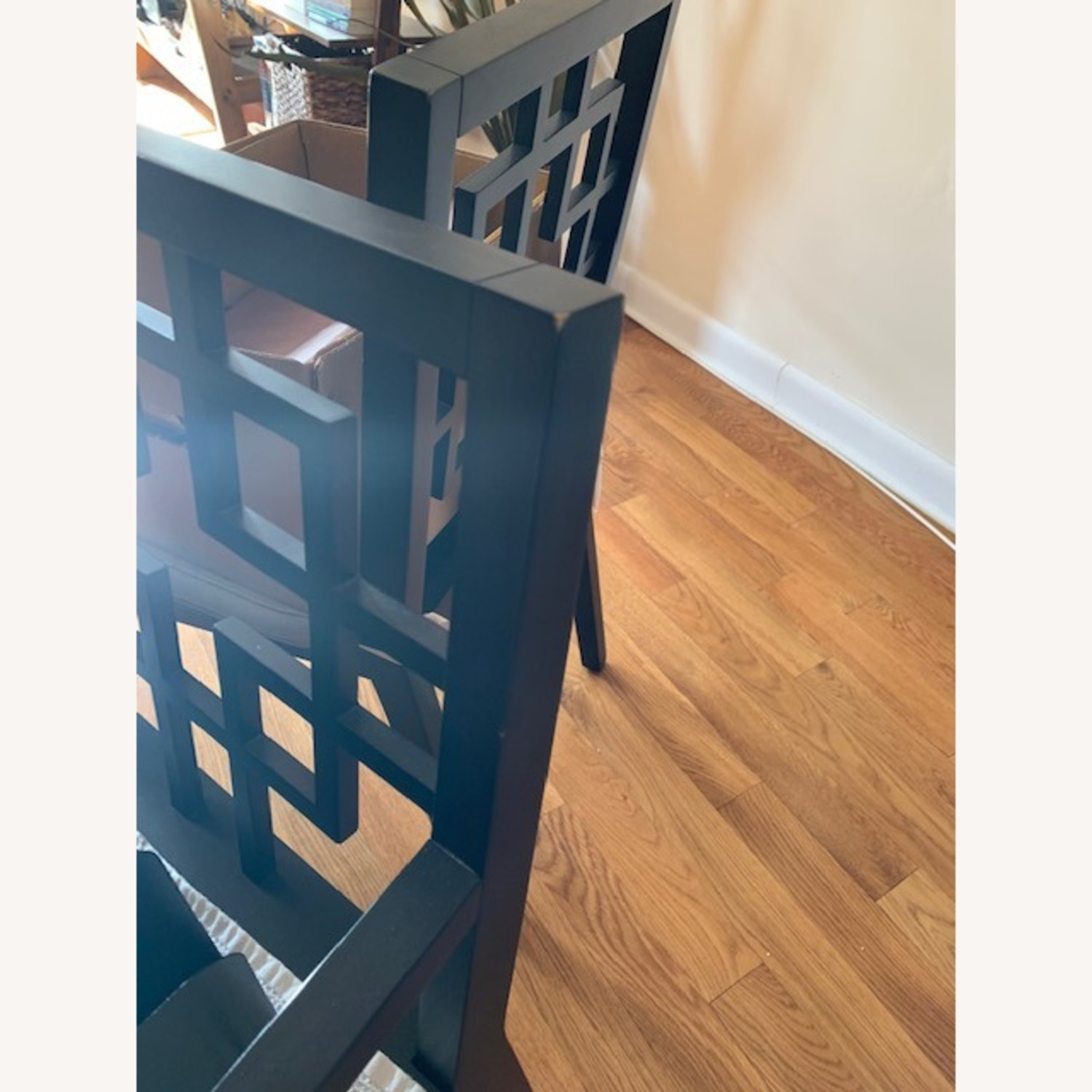 West Elm Dining Table w/ 4 Chairs - image-17