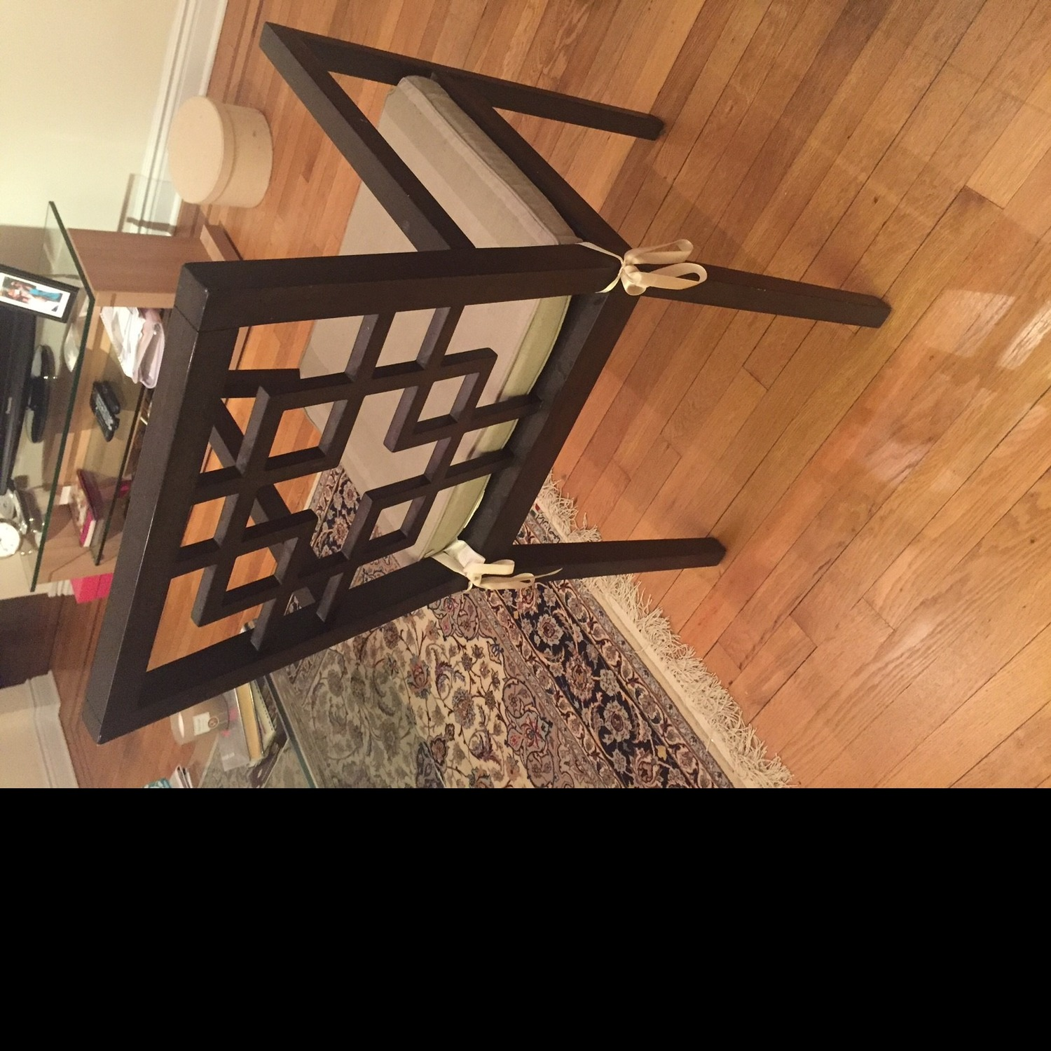 West Elm Dining Table w/ 4 Chairs - image-9