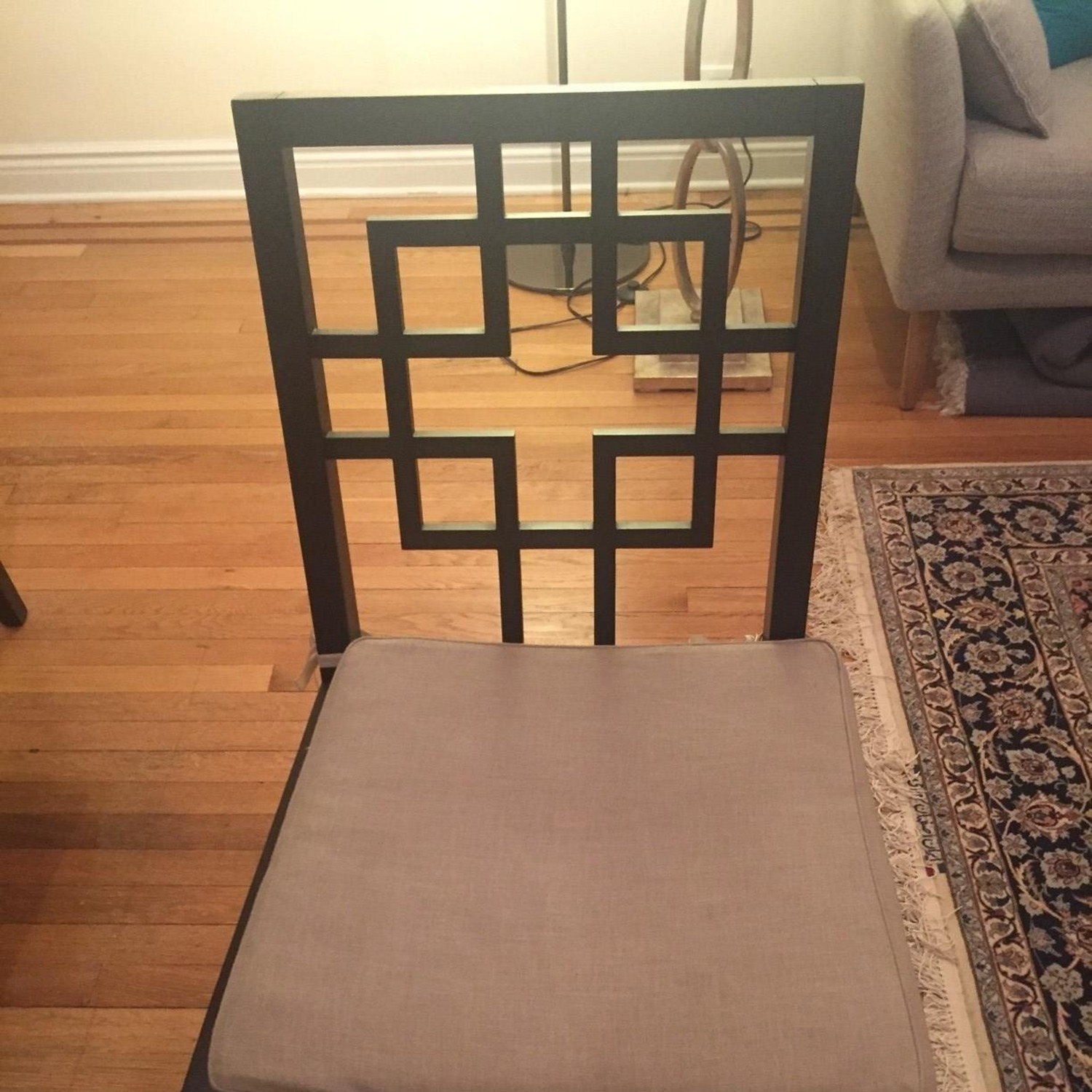 West Elm Dining Table w/ 4 Chairs - image-10