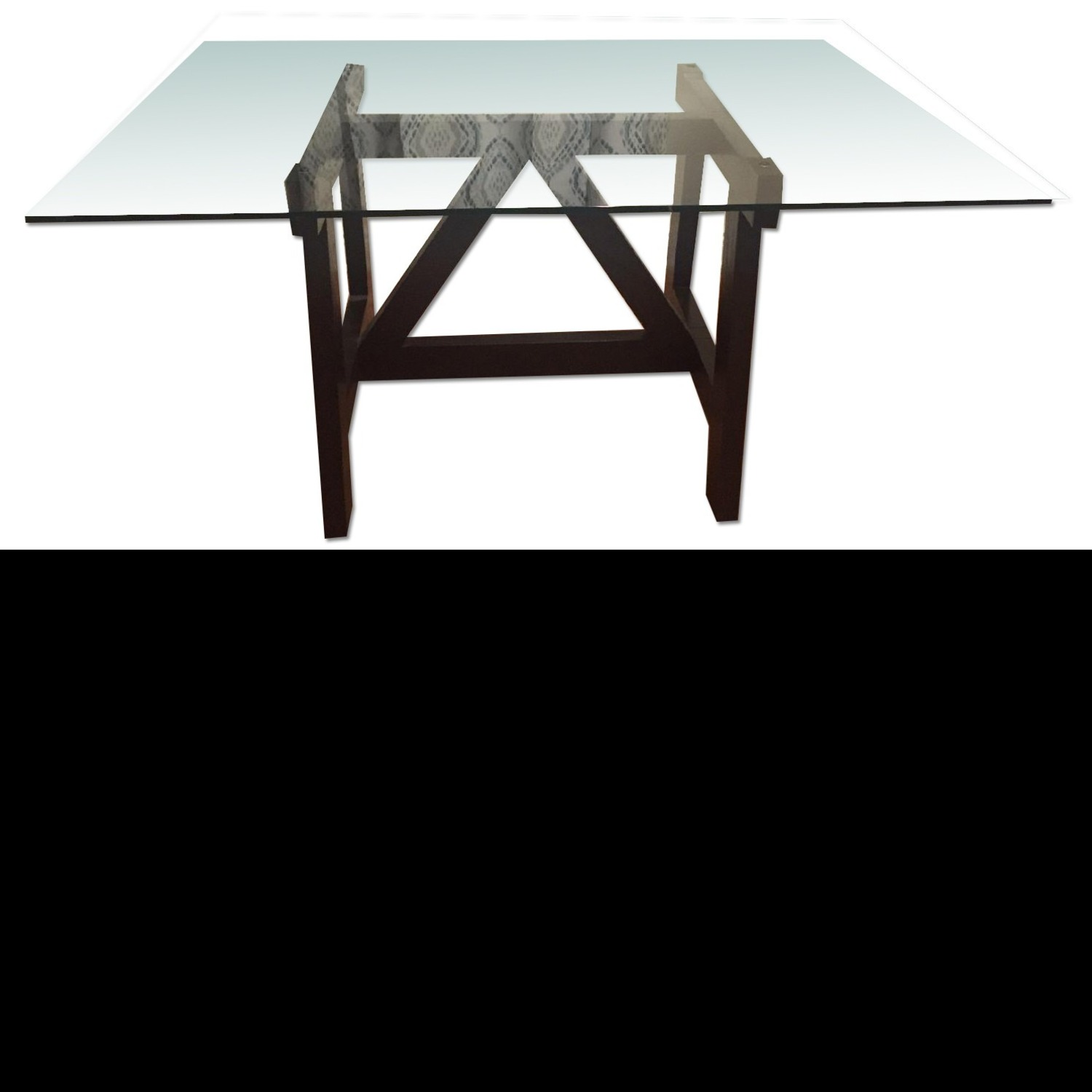 West Elm Dining Table w/ 4 Chairs - image-1