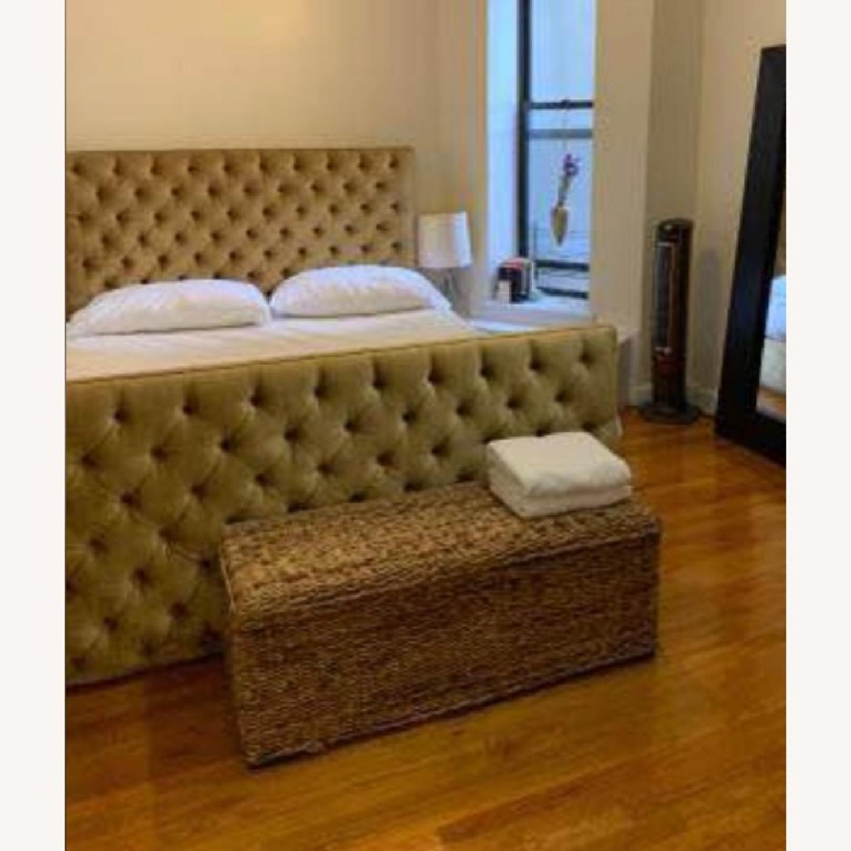 Vintage Victorian King Bed - image-0