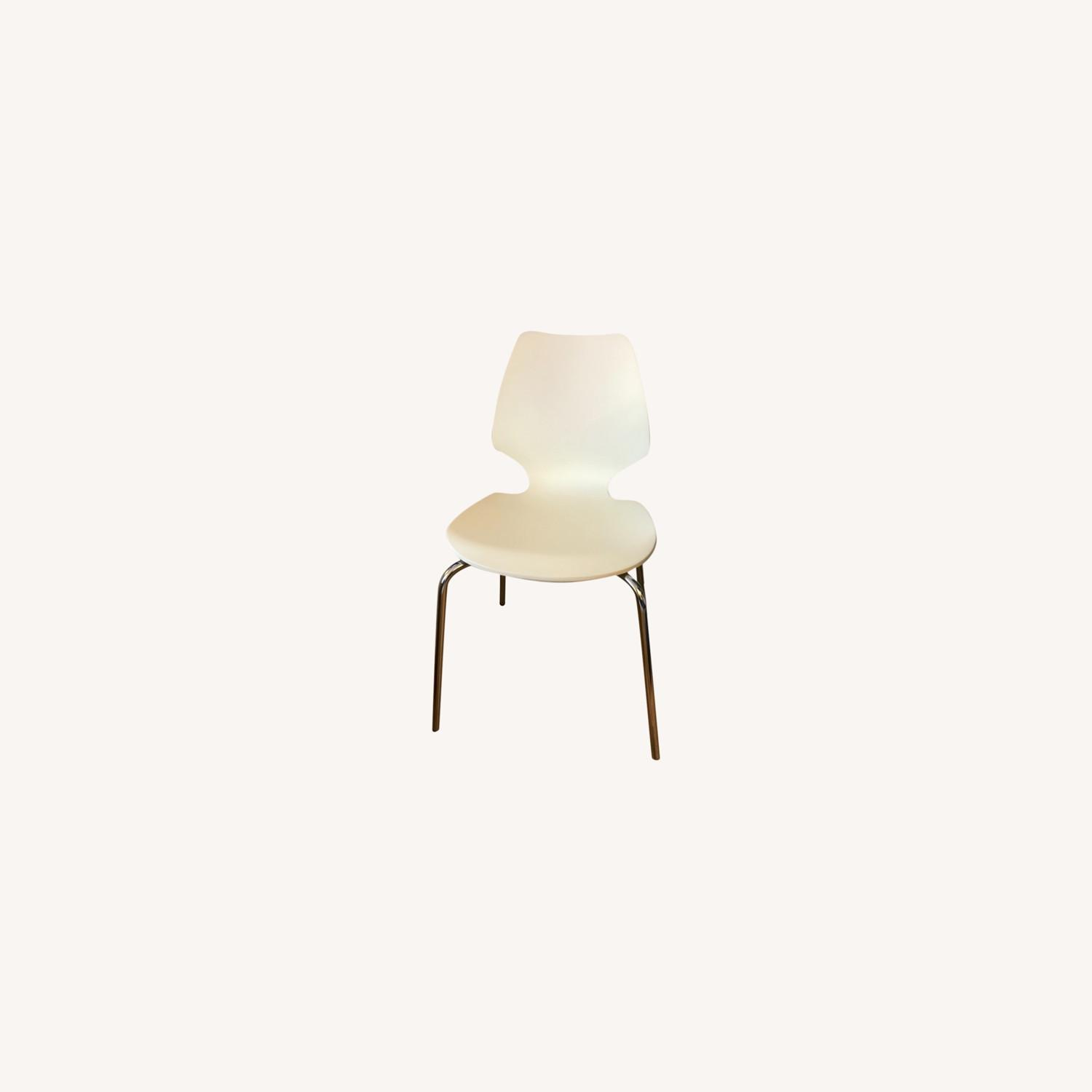 West Elm Scoop Back Dining Chairs - set of 2 - image-0