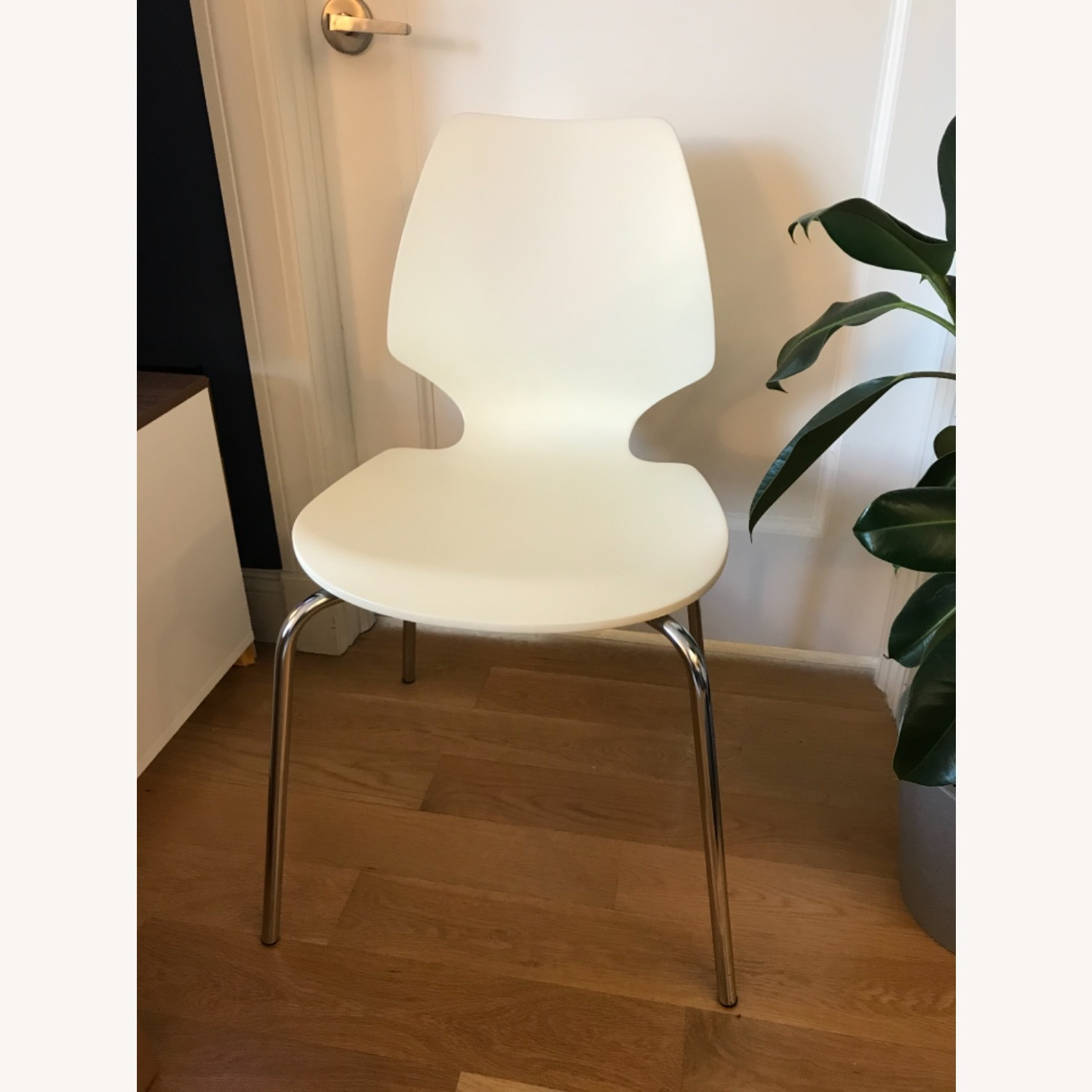 West Elm Scoop Back Dining Chairs - set of 2 - image-3
