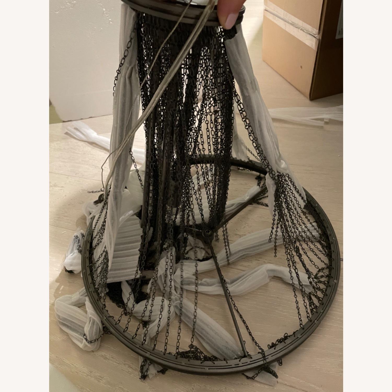 Restoration Hardware Allegra Empire Chandelier - image-4