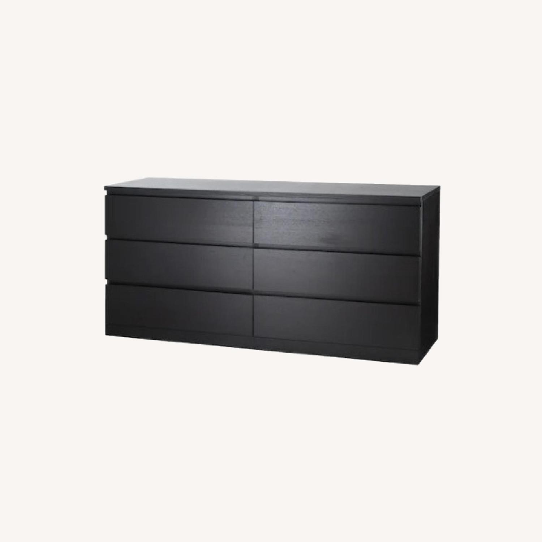 IKEA 6 Drawer Dresser - image-0