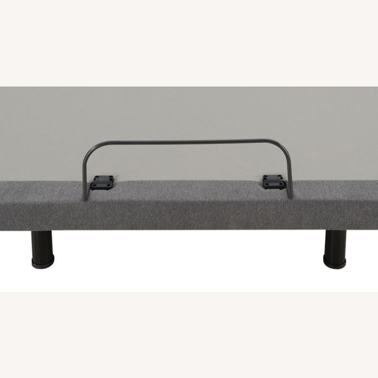 Twin XL Adjustable Bed Base In Grey Fabric Finish - image-7