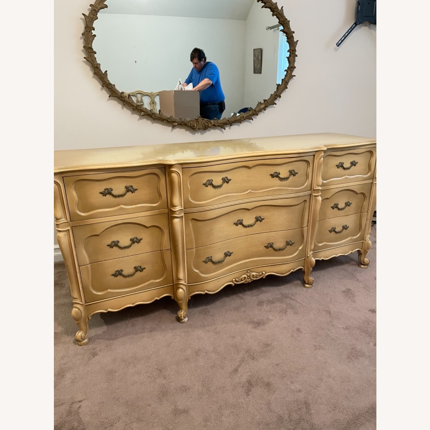 Mid Century French Provencial Dresser - image-1