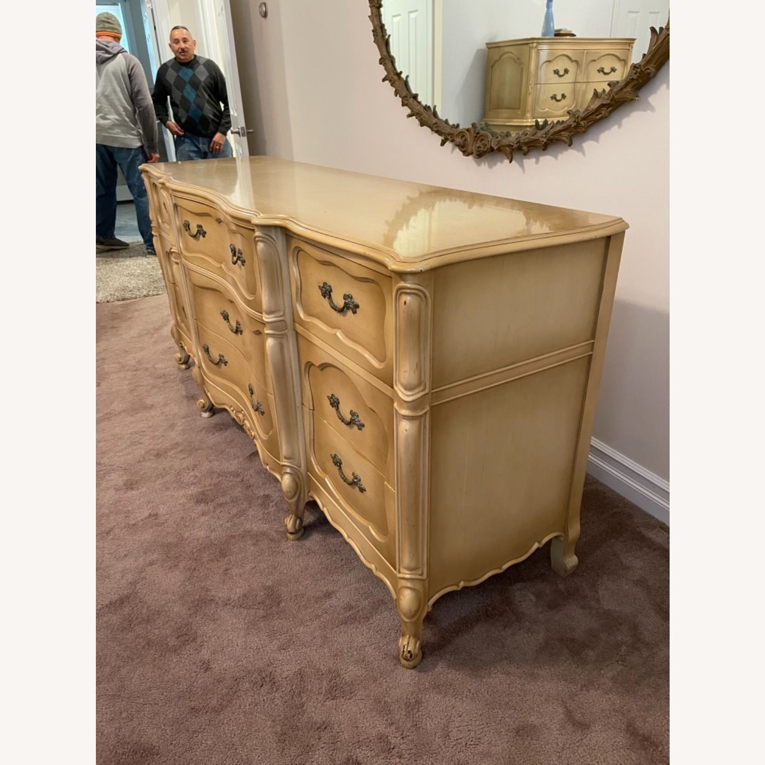 Mid Century French Provencial Dresser - image-2