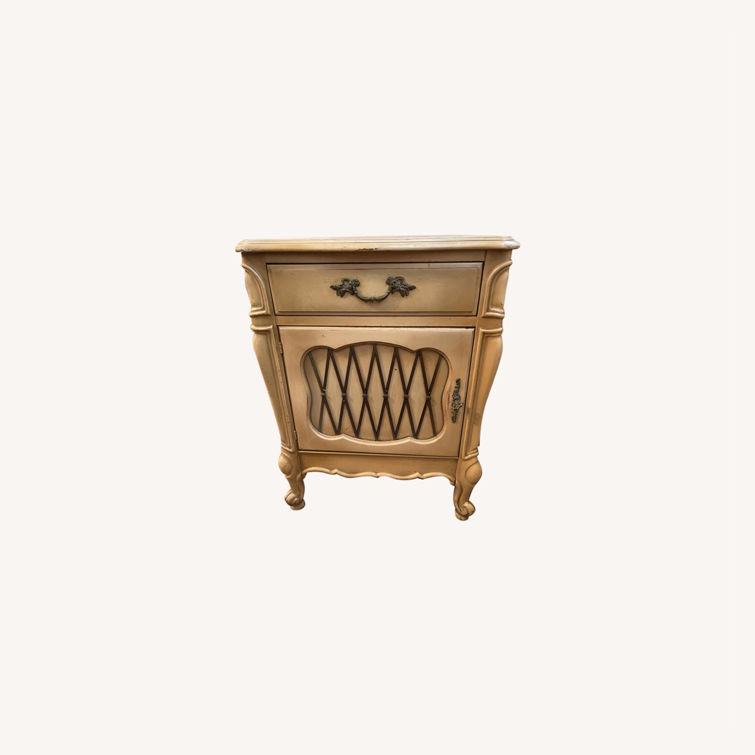 Mid Century French Provencial Nightstands [Pair] - image-0