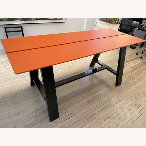 Used LandscapeForms Standing Height Harvest Table for sale on AptDeco