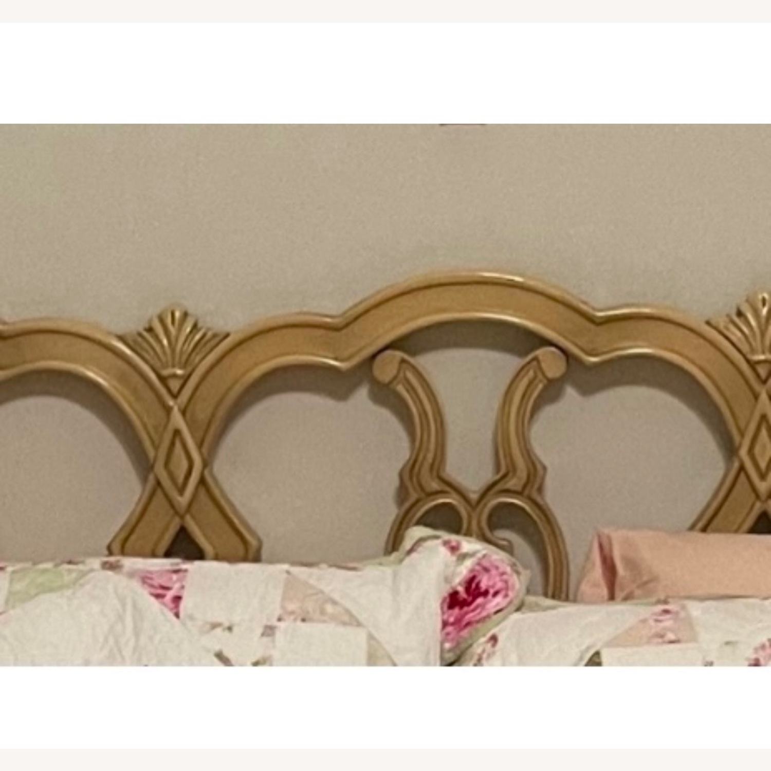 Mid Century French Provincial Queen Headboard - image-3