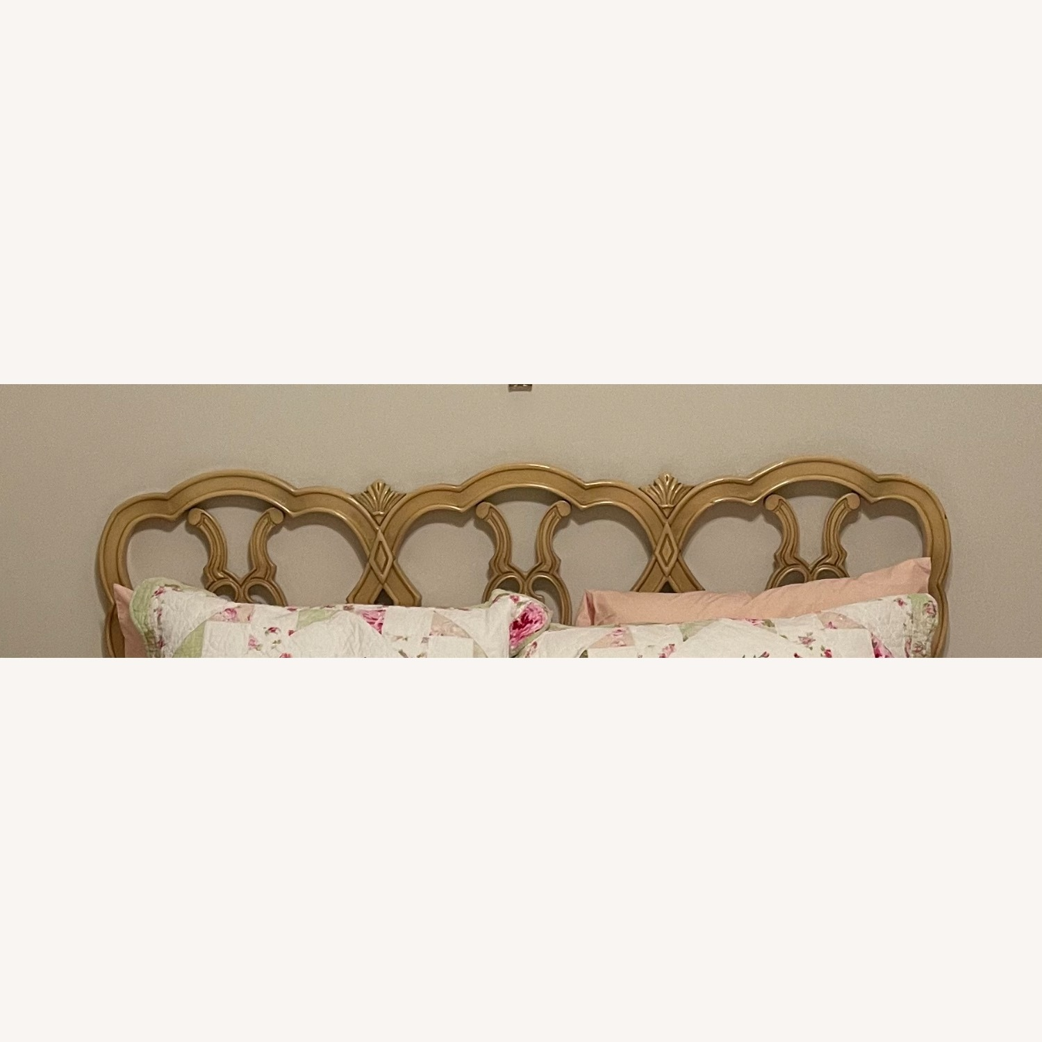 Mid Century French Provincial Queen Headboard - image-2