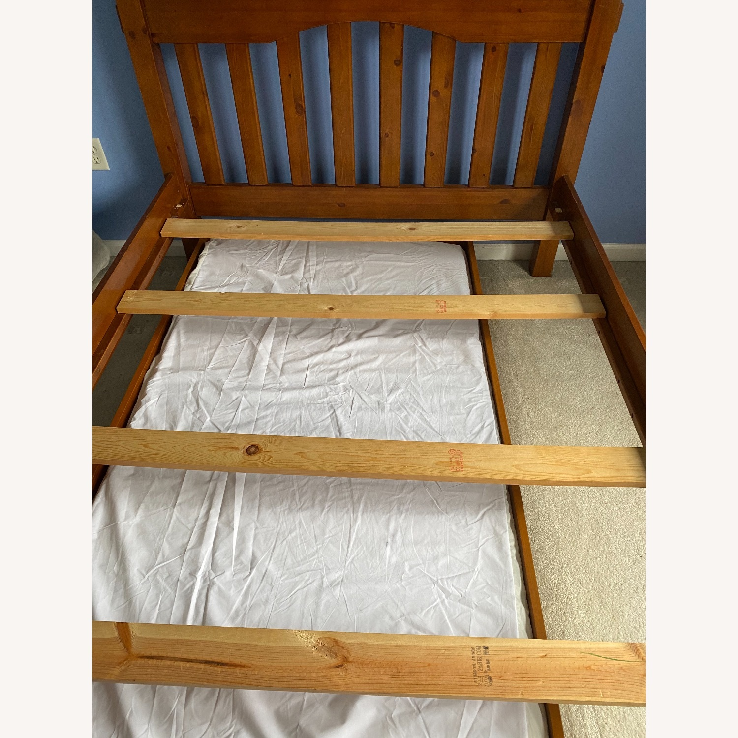 Pottery Barn Kids Full Size Bed and Trundle - image-1